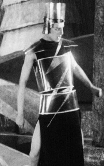 Capa do filme: Aelita, a rainha de Marte