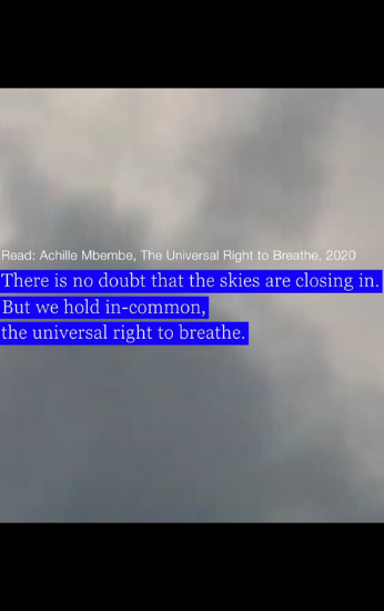Capa do filme: Estudo de Nuvens