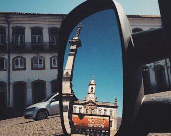 O que se Mostra no seu retrovisor - Crédito: Andrade Gomes Moura Artur