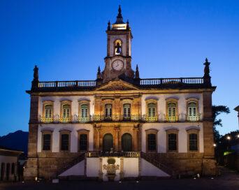 Museu ao entardecer - Autor: Marcel Ribeiro da Silva