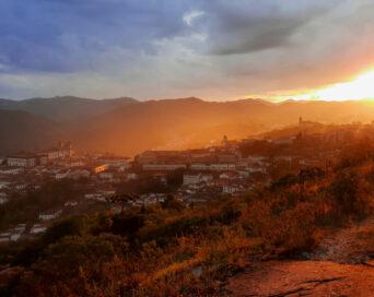 Golden town - Autora: Ângela Silvestrin Poletto